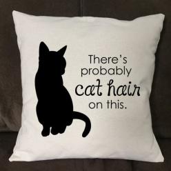 cat hair pillow